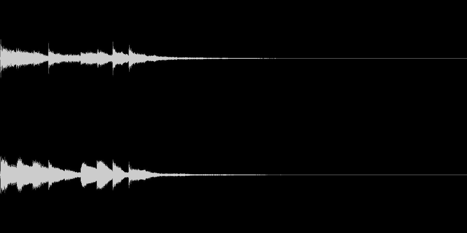 ピアノジングル01_aの未再生の波形