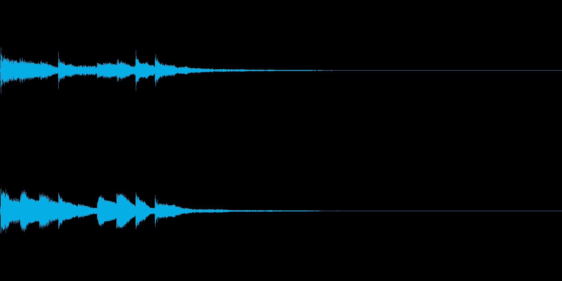ピアノジングル01_aの再生済みの波形