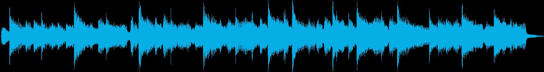 エレキギターが印象的な哀しいジングルの再生済みの波形