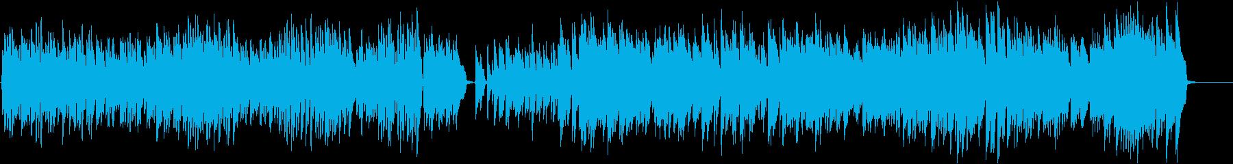 クラシックでピアノでスピード感が欲しい時の再生済みの波形