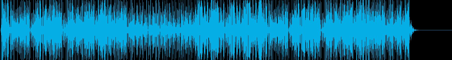 風変わりなテクノエレクトロニカトラ...の再生済みの波形