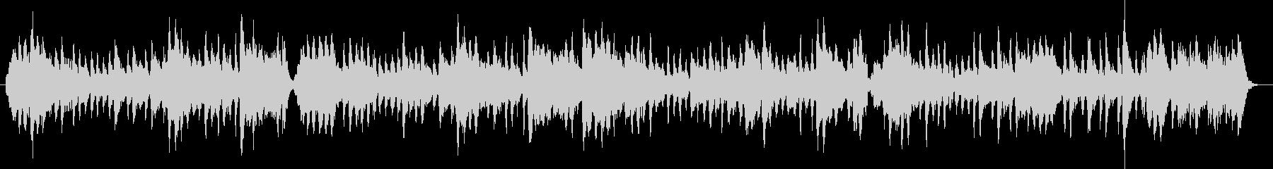 リコーダー縦笛とストリングスのワルツの未再生の波形