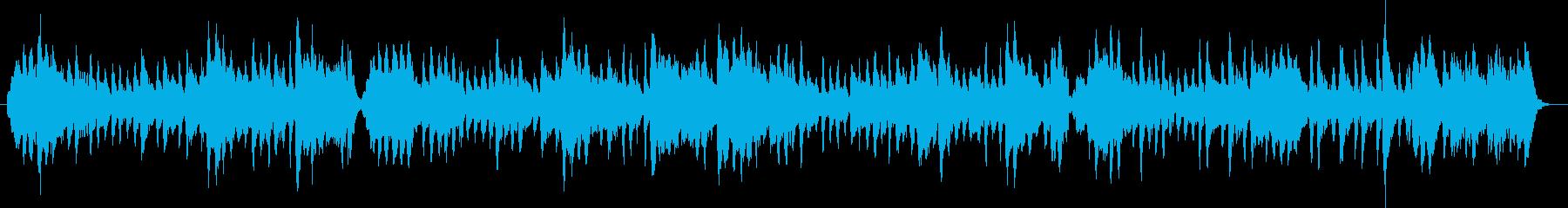 リコーダー縦笛とストリングスのワルツの再生済みの波形