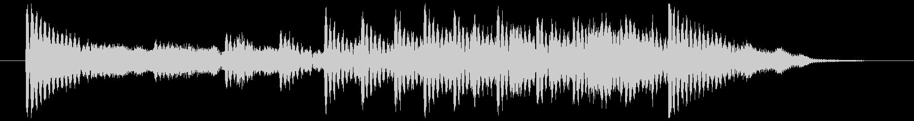 和楽器☆和風ジングル2の未再生の波形