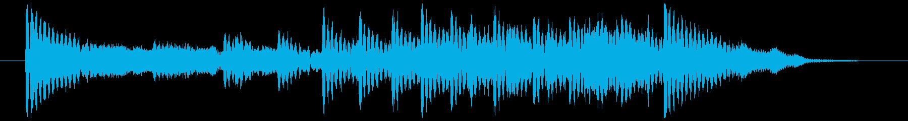 和楽器☆和風ジングル2の再生済みの波形