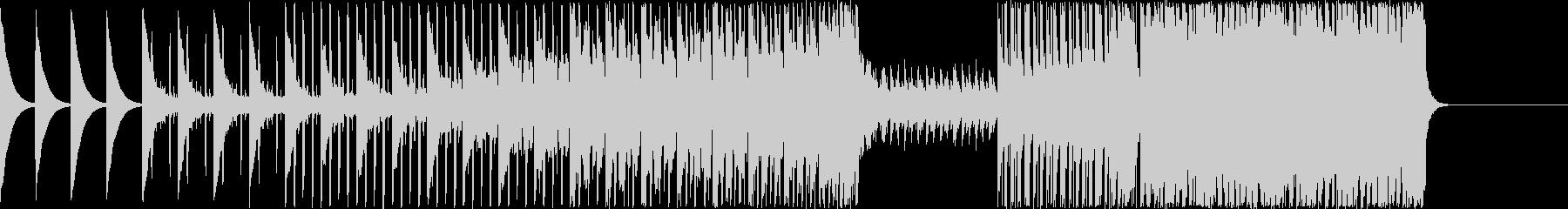 四つ打ちEDMの未再生の波形