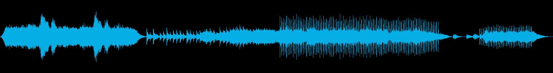 アンビエントで幻想的、不思議なサウンドの再生済みの波形