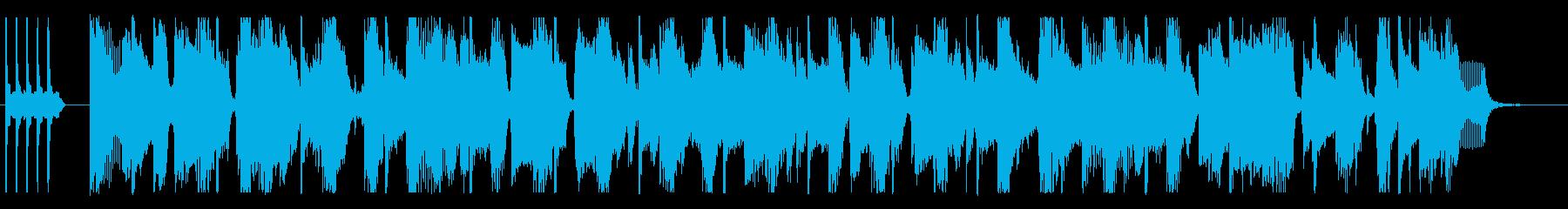 コーナータイトル_ファンキーなオープニンの再生済みの波形