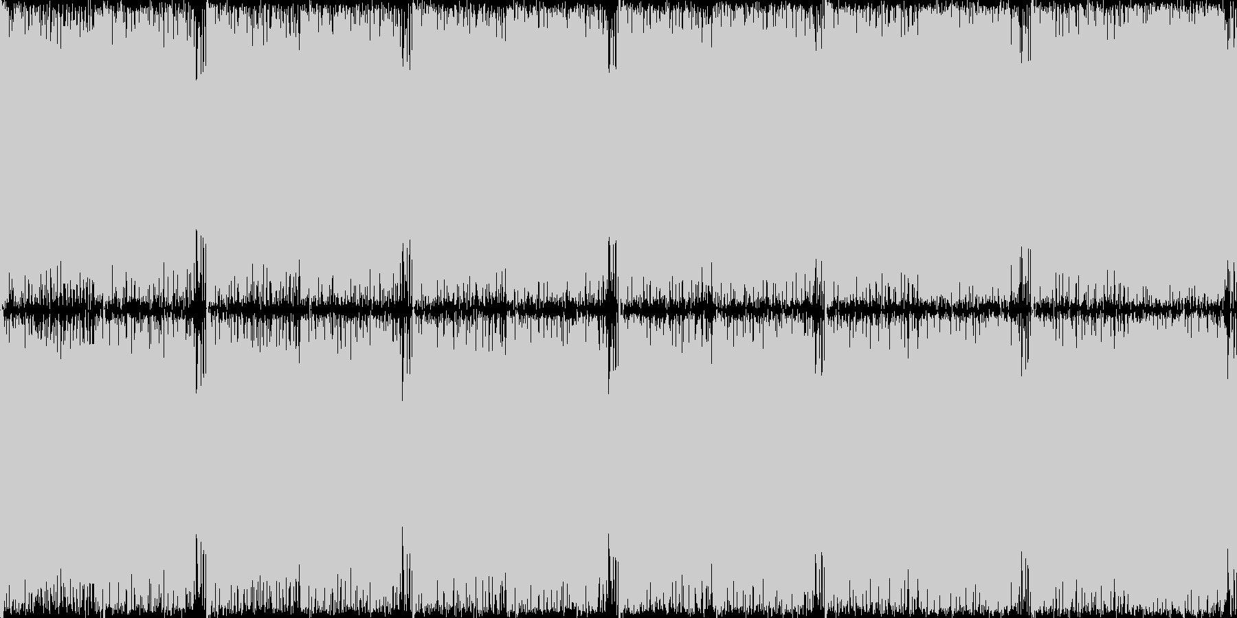 時の狭間、レベル3、癖になるループ素材の未再生の波形