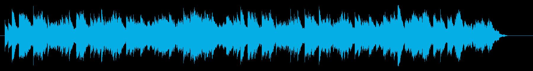 冷たく悲しい、孤独なオルゴールジングルAの再生済みの波形