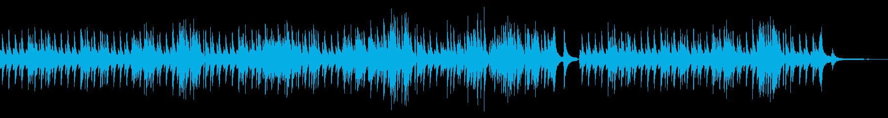 ピ:優雅でリラックスできるピアノソロの再生済みの波形