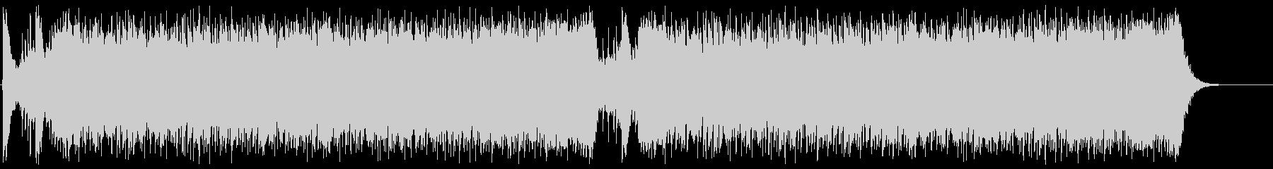 緊迫感を演出するシンフォニックロック3の未再生の波形