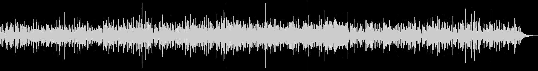 ビブラフォンのジャズボッサの未再生の波形