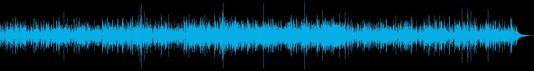 ビブラフォンのジャズボッサの再生済みの波形