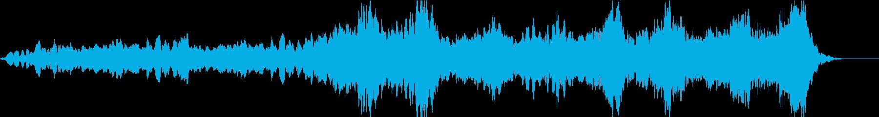 男女のコーラスが特徴のバラードの再生済みの波形