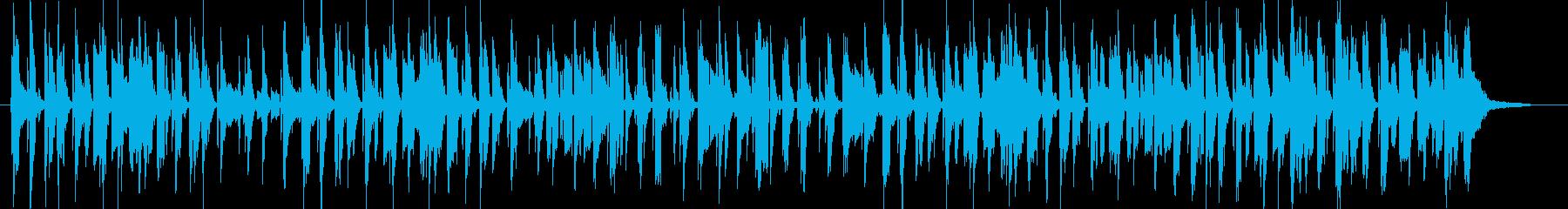 R&BとFunkインストゥルメンタ...の再生済みの波形