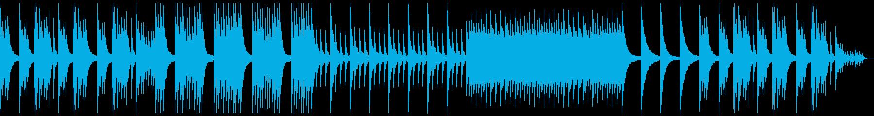 モノローグ感のある願いを感じる曲の再生済みの波形