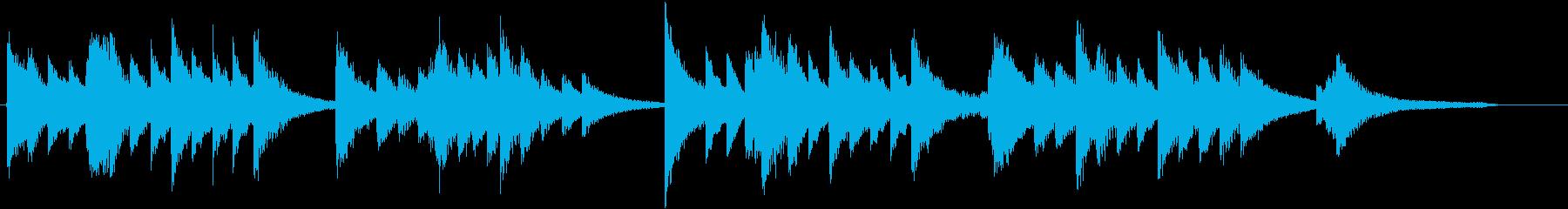 童謡・うれしいひなまつりピアノBGM②の再生済みの波形
