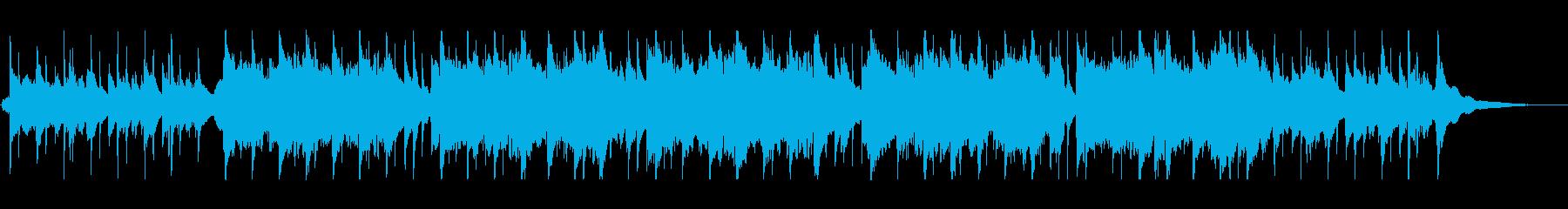 のんびりと穏やかなケルト音楽の再生済みの波形