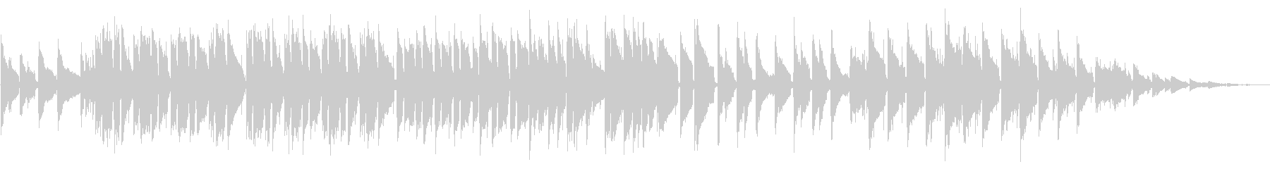 映像、CM向けのアコースティックサウンドの未再生の波形
