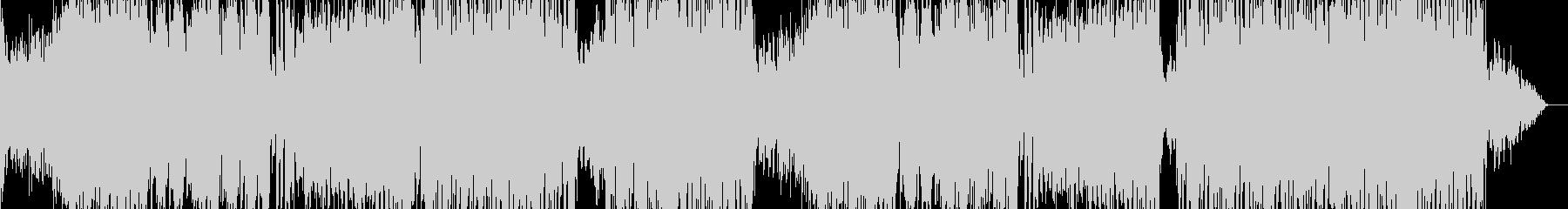 EDM、Electro Swingですの未再生の波形