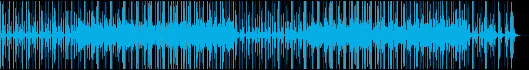 明るい楽しいシンセとピアノの爽やかBGMの再生済みの波形