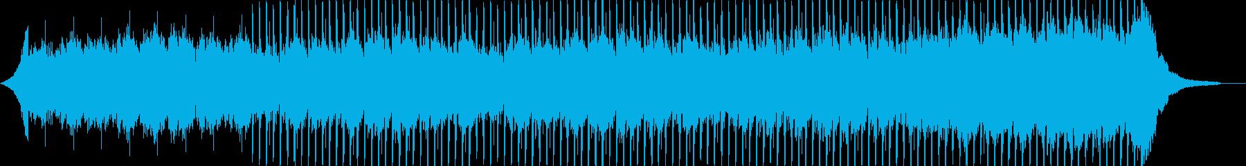 企業VP系31、爽やかギター4つ打ち9bの再生済みの波形