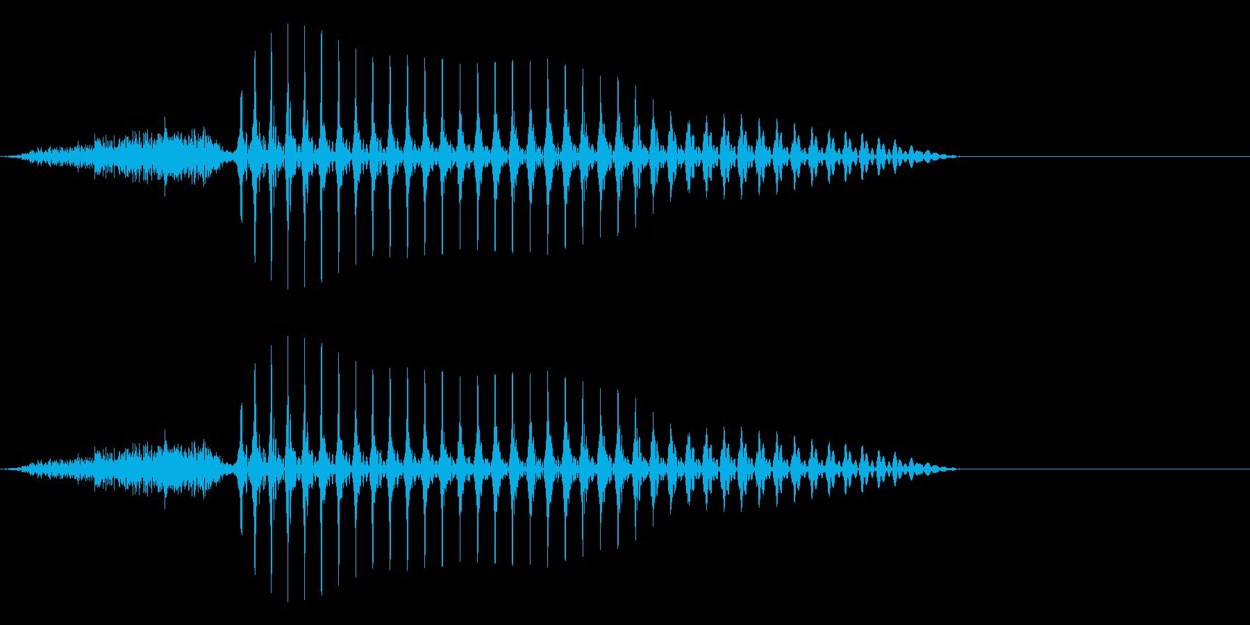 サーム3(三)中国語(広東)20代男の再生済みの波形