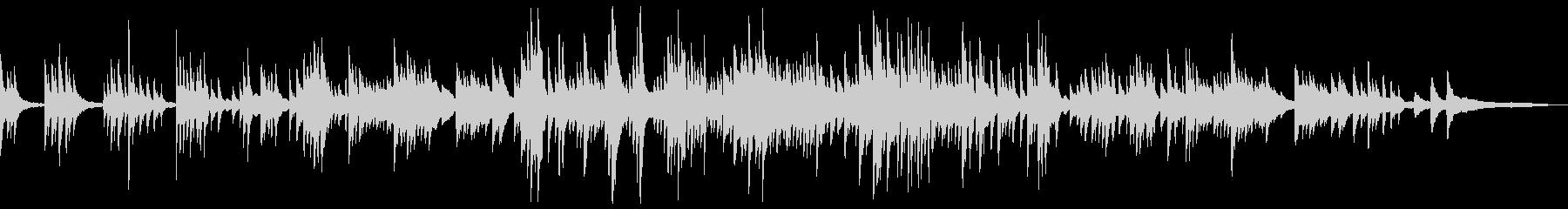 わらべ歌の和風曲2a-タックピアノの未再生の波形