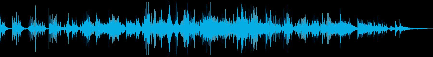わらべ歌の和風曲2a-タックピアノの再生済みの波形