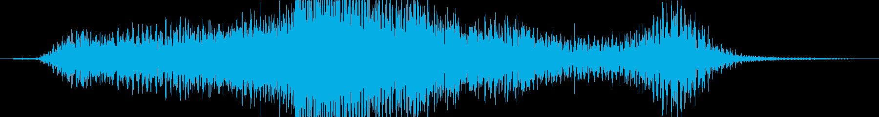 実験的な モダン 実験的 未来 テ...の再生済みの波形