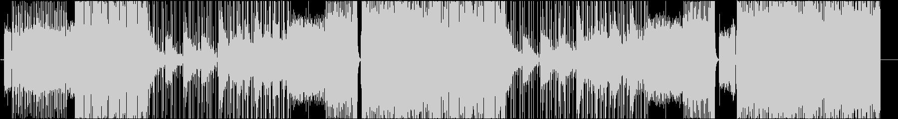 ギタータイプビート trap hiphoの未再生の波形