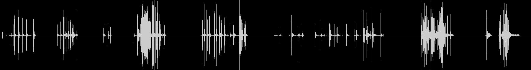 メッシュの小片:長いよろめき涙布、...の未再生の波形