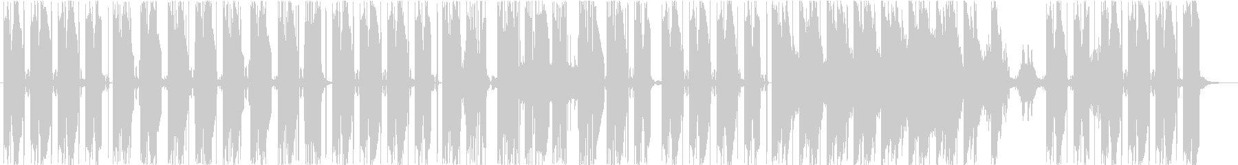 和のテイストを持つトラップの未再生の波形