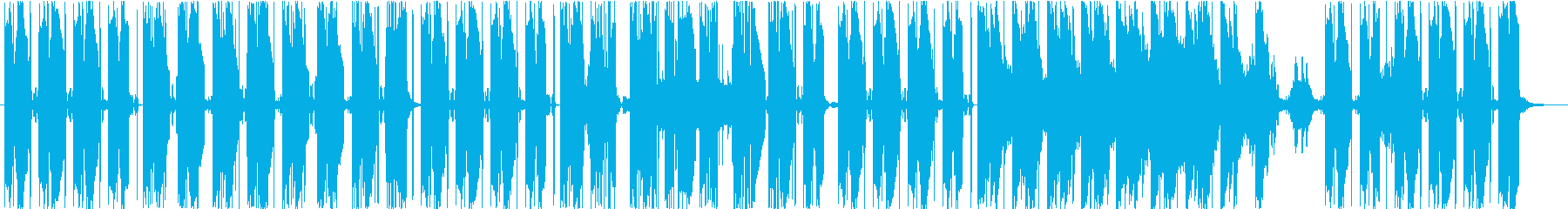 和のテイストを持つトラップの再生済みの波形