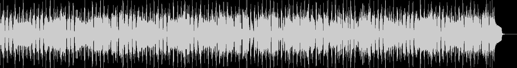 定番のブルース進行でのBGMの未再生の波形