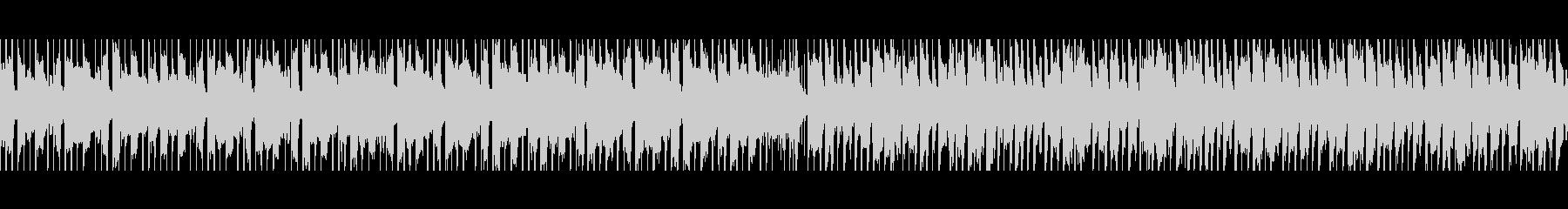 ベリーダンス(ループ)の未再生の波形
