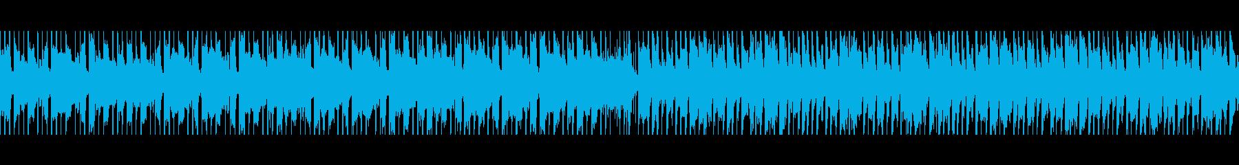 ベリーダンス(ループ)の再生済みの波形