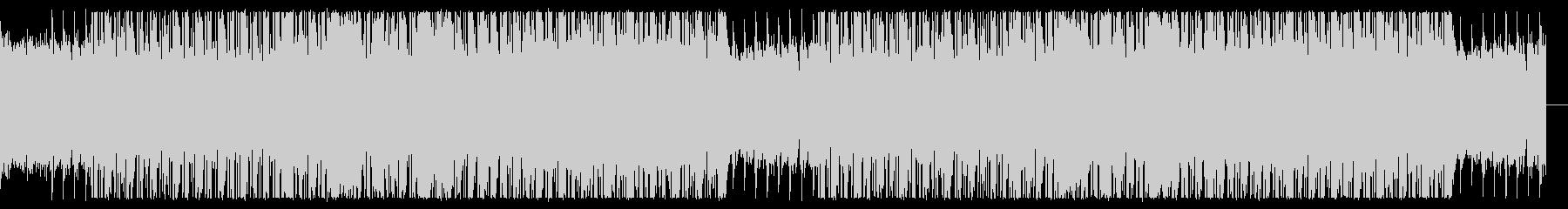 ノリの良いチル・ヒップホップの未再生の波形