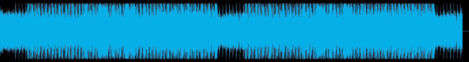 ノリの良いチル・ヒップホップの再生済みの波形