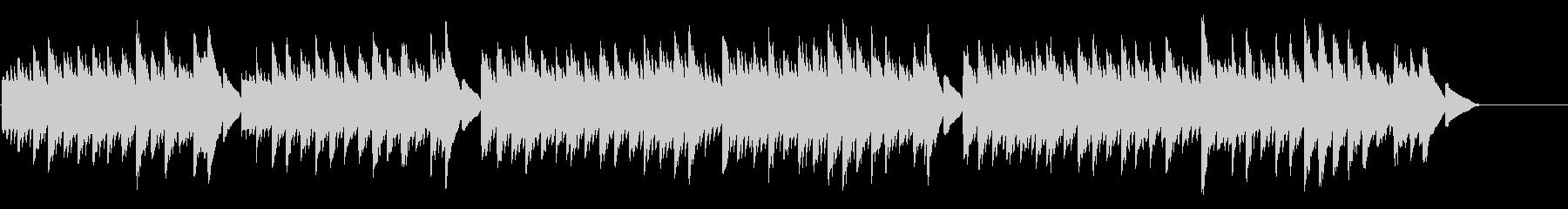 キラキラ星変奏曲(Var Ⅱ)オルゴールの未再生の波形