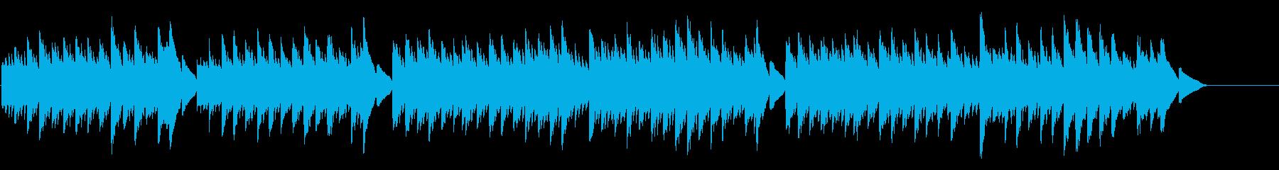 キラキラ星変奏曲(Var Ⅱ)オルゴールの再生済みの波形