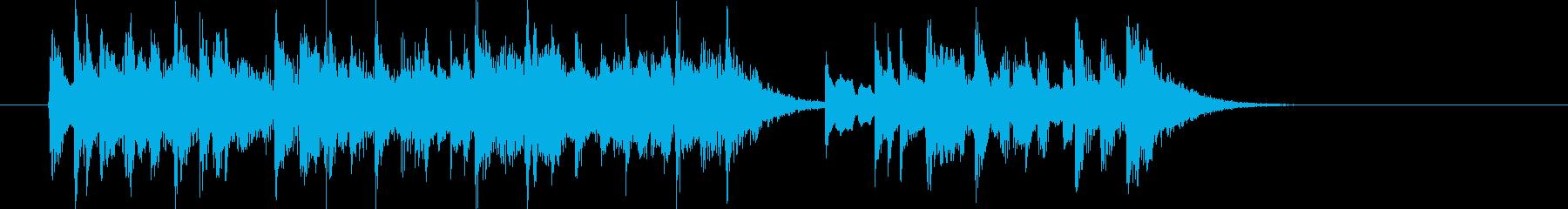 明るい別れのミュージックの再生済みの波形