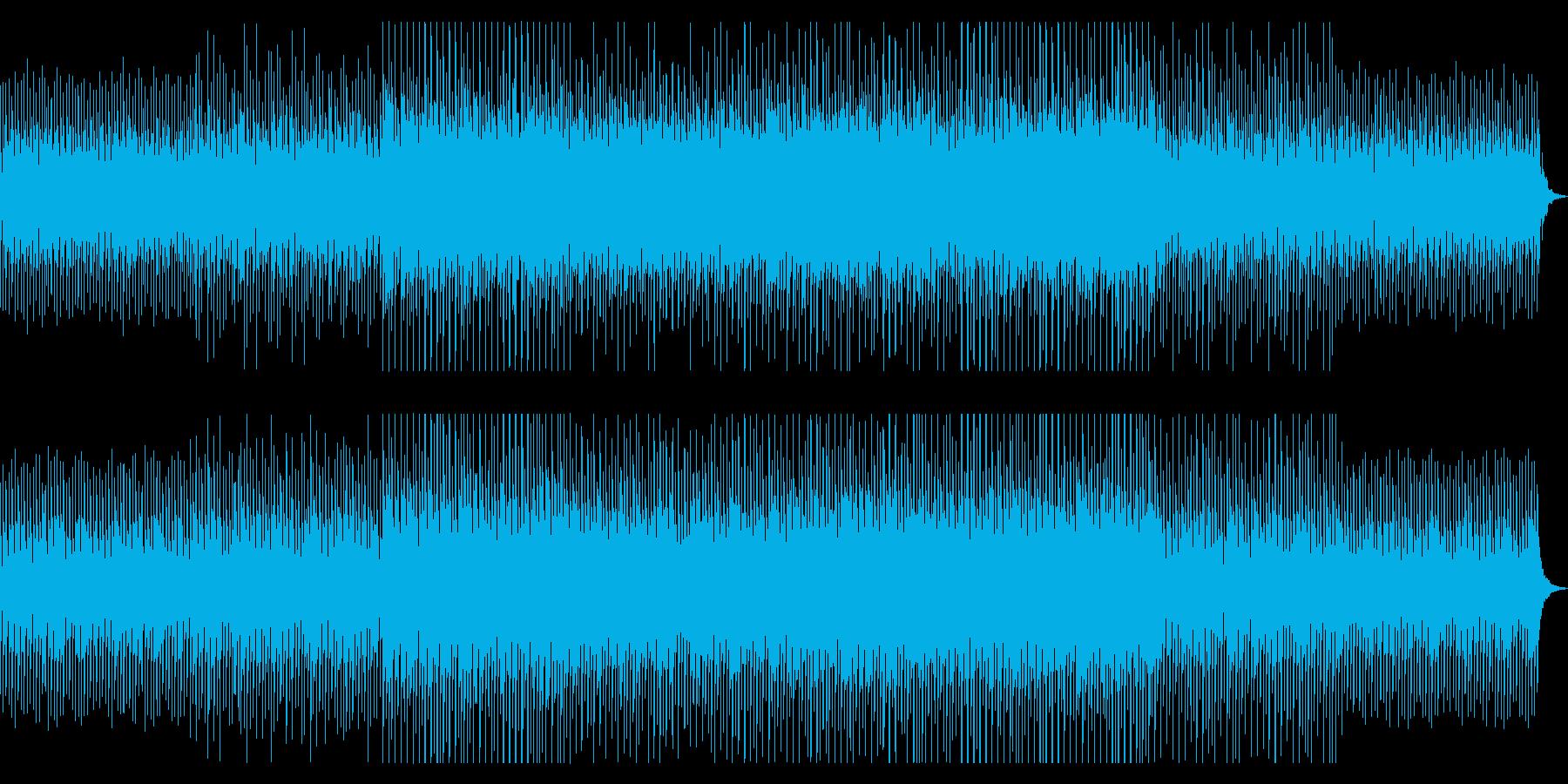 原稿読みBGM。神秘的/幻想的/4つ打ちの再生済みの波形