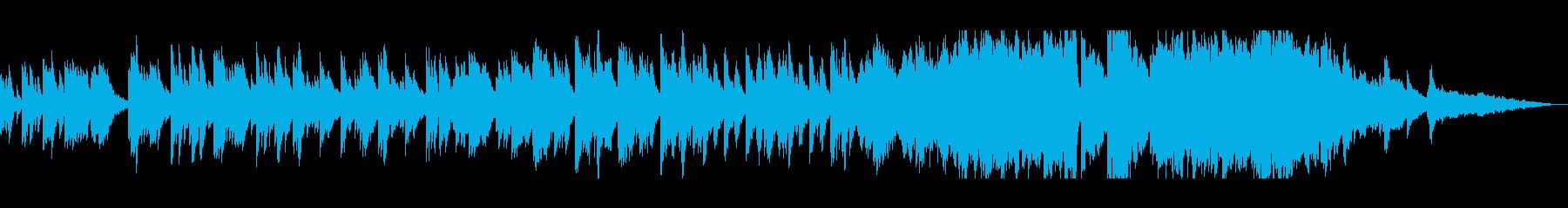 可憐で煌びやかなピアノサウンドの再生済みの波形