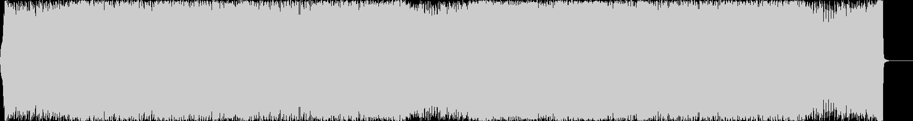 アップテンポでハイテンションなEDMの未再生の波形