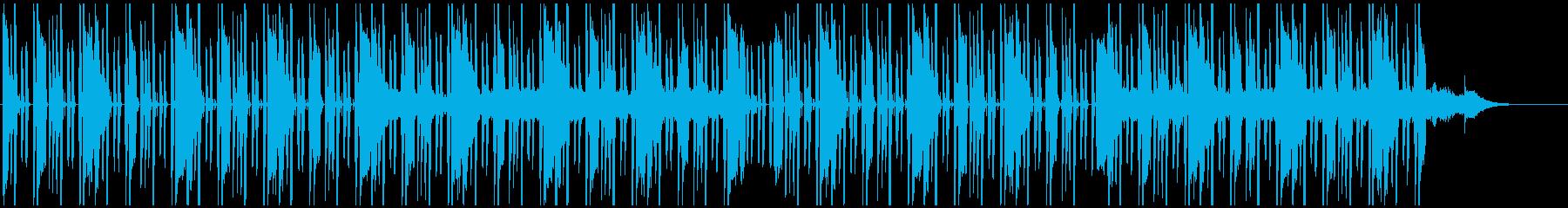 【LOFI HIPHOP】深夜集中Eの再生済みの波形