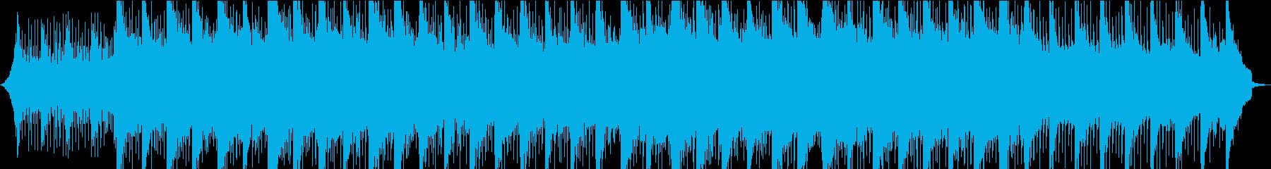 【プレゼンテーション】浮遊感とピアノの再生済みの波形