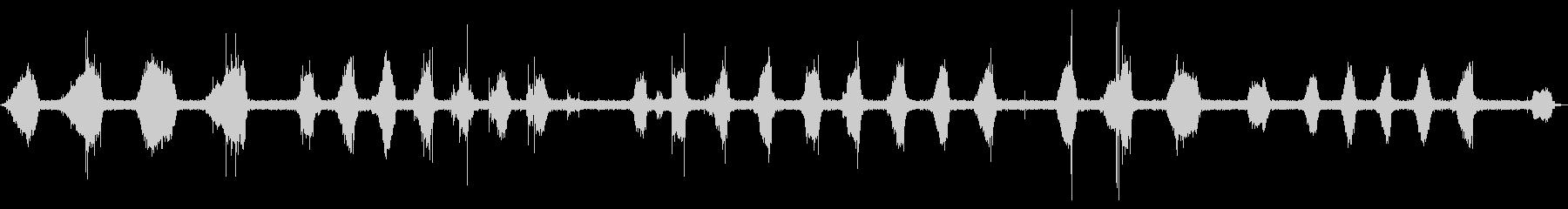 【サッサッ…】ホウキで石床を掃く音_01の未再生の波形