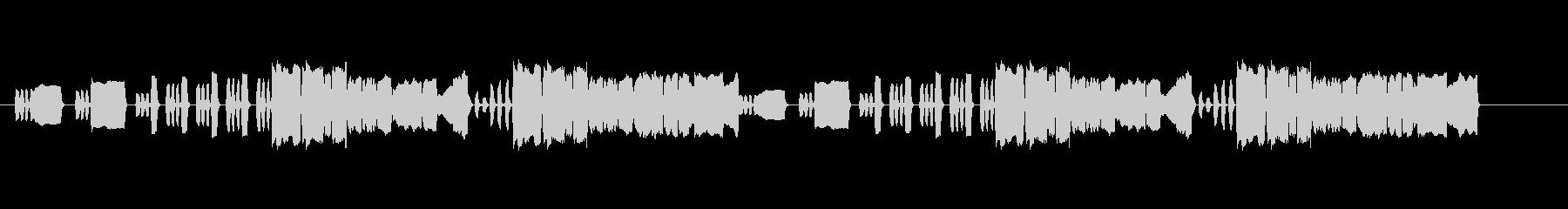 メンデルスゾーン「結婚行進曲」リコーダーの未再生の波形
